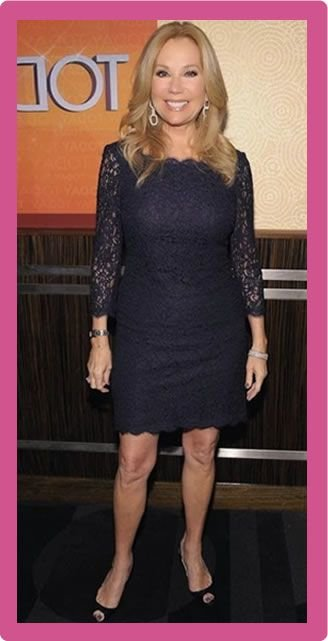 Kathie Lee Gifford Measurements