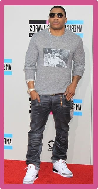 Nelly Body Statistics Measurements