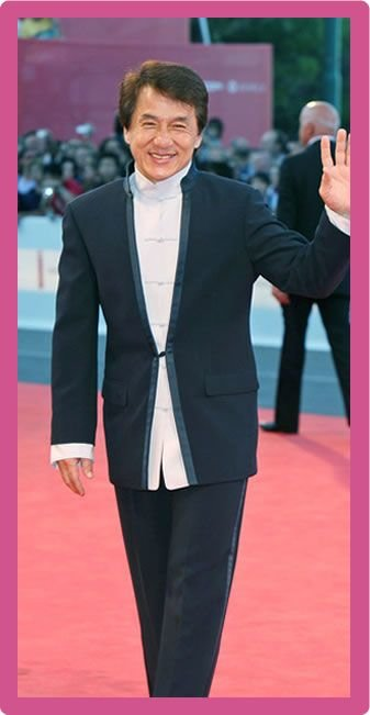 Jackie Chan Body Statistics Measurements