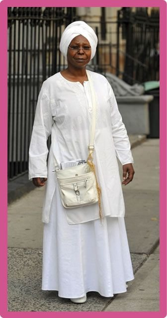Whoopi Goldberg Body Statistics Measurements